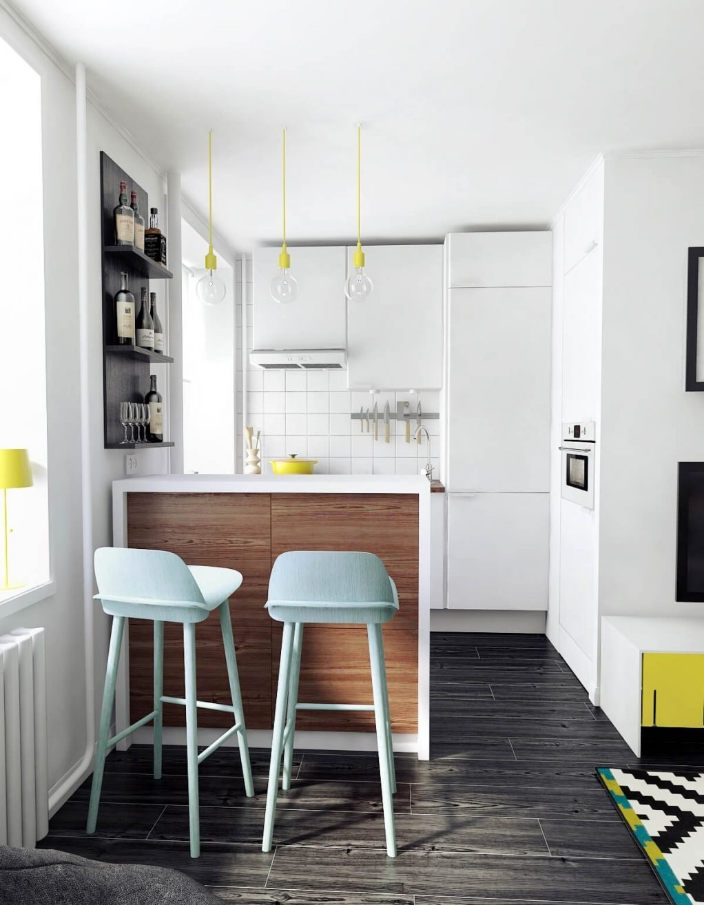 10 Nice Space Saving Ideas For Small Kitchens simple and clever space saving ideas for small kitchens kukun 2020