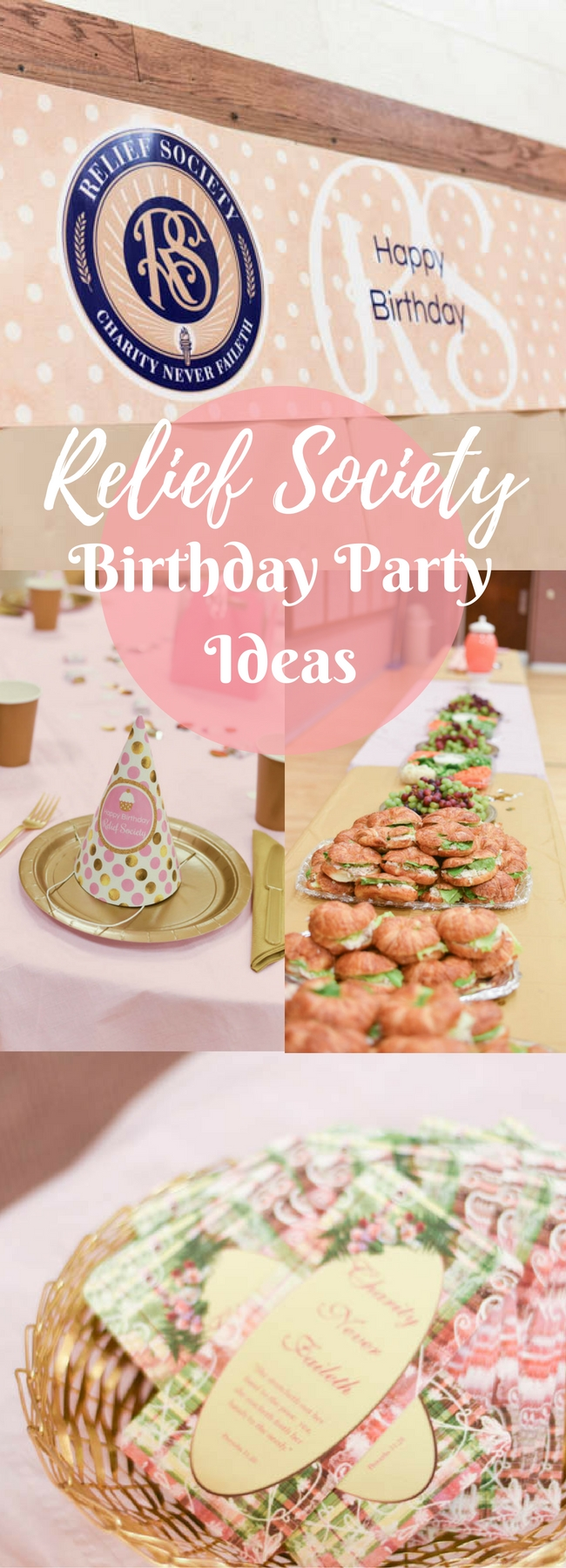 10 Cute Relief Society Birthday Party Ideas simple and fun relief society birthday ideas 2020