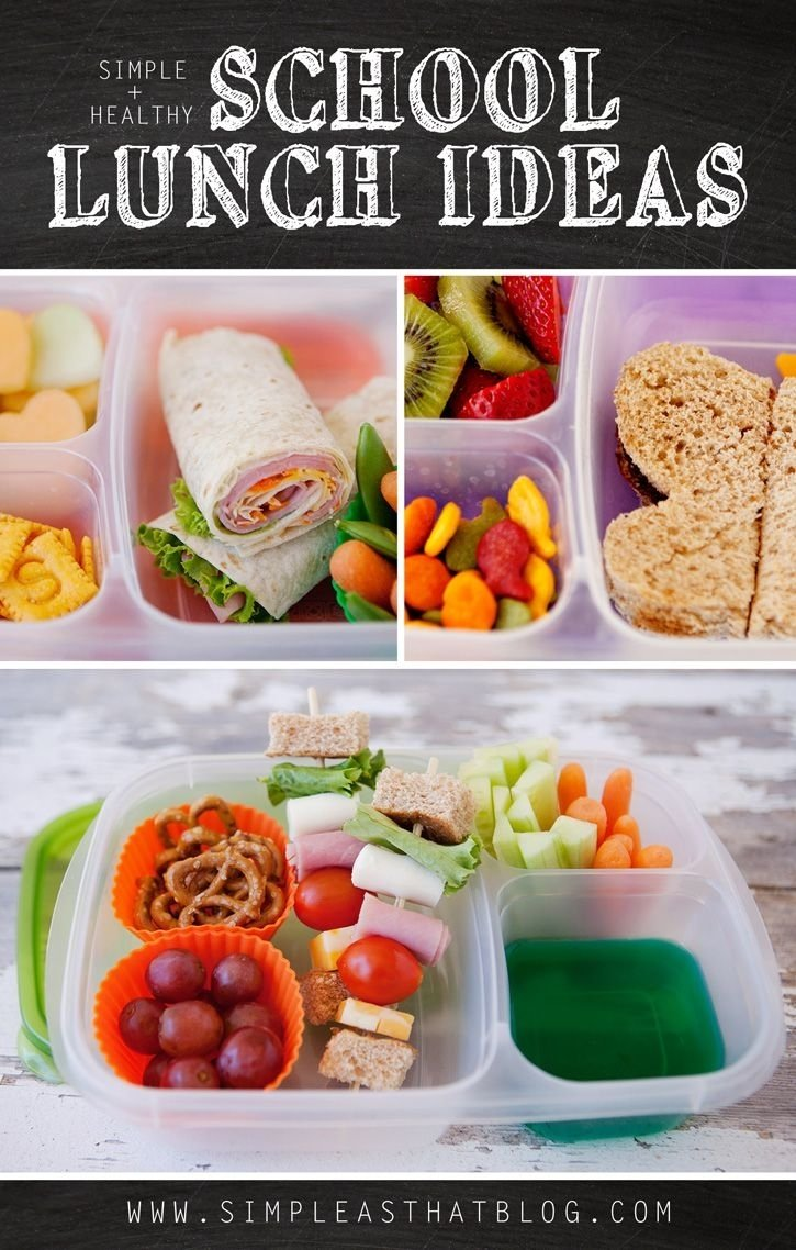 10 Most Popular Healthy Kid Lunch Ideas For School simple and healthy school lunch ideas school lunch lunches and school 2