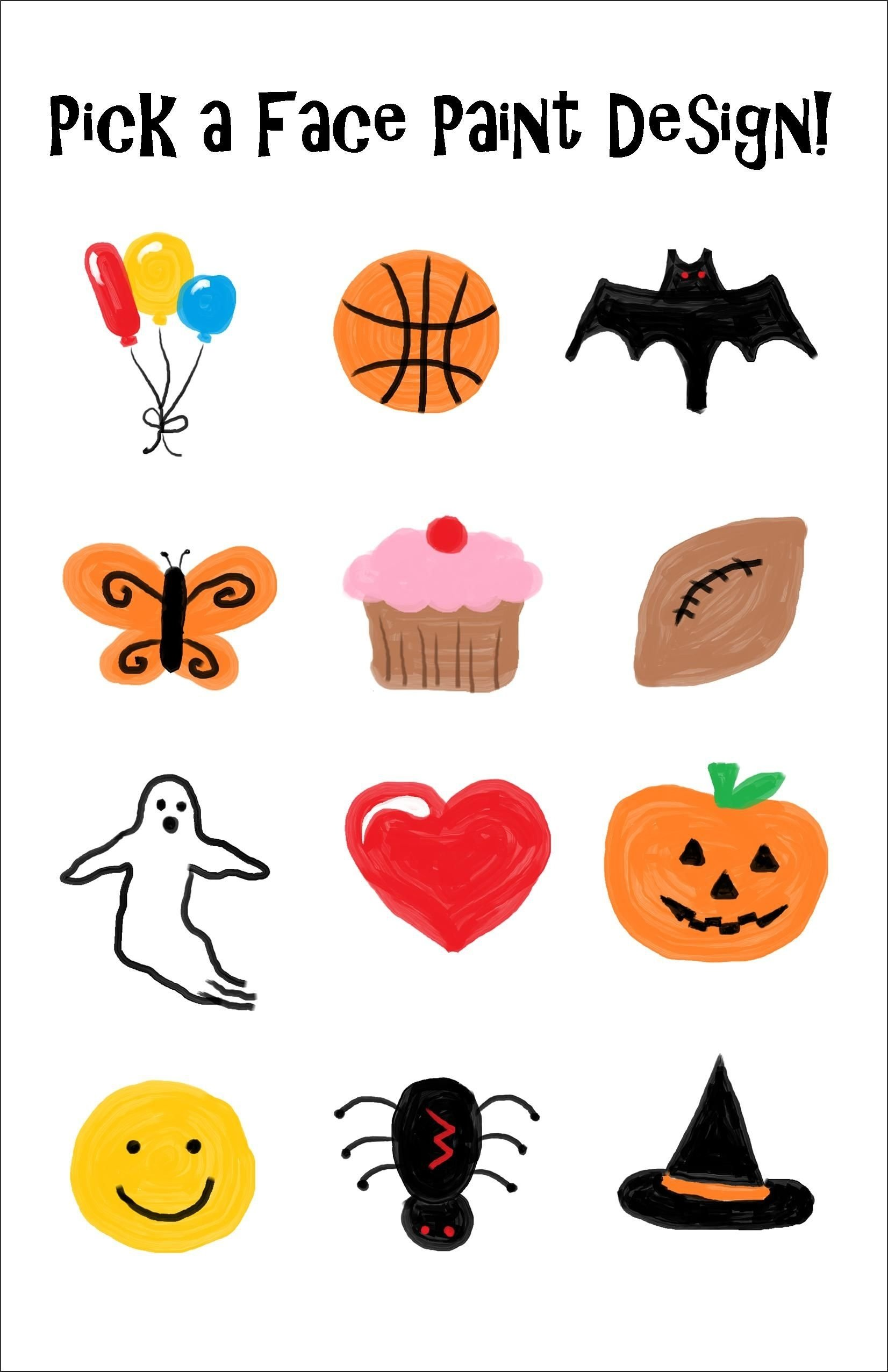 10 Amazing Simple Halloween Face Painting Ideas For Kids simple and quick face paint designs created for the halloween fair 3 2020