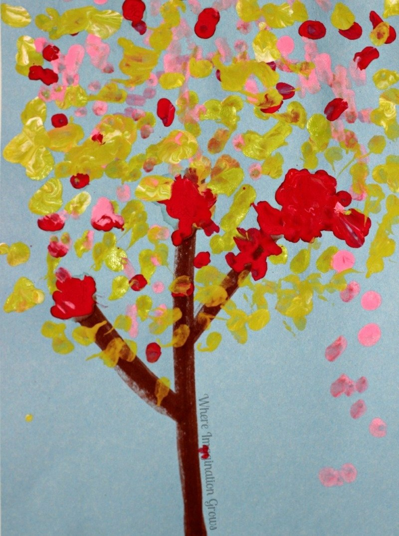 10 Stunning Simple Craft Ideas For Kids Art Projects Cotton Swab Tree