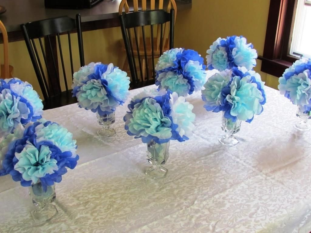 10 Spectacular Homemade Baby Shower Decoration Ideas simple baby shower centerpieces decoration ideas homemade baby 2020