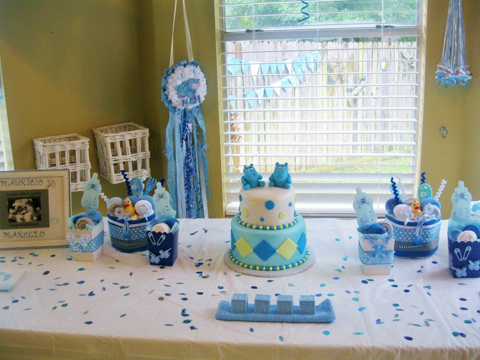 10 Unique Baby Shower Decoration Ideas For Boy simple baby shower decoration ideas for boy e280a2 baby showers design 1 2021