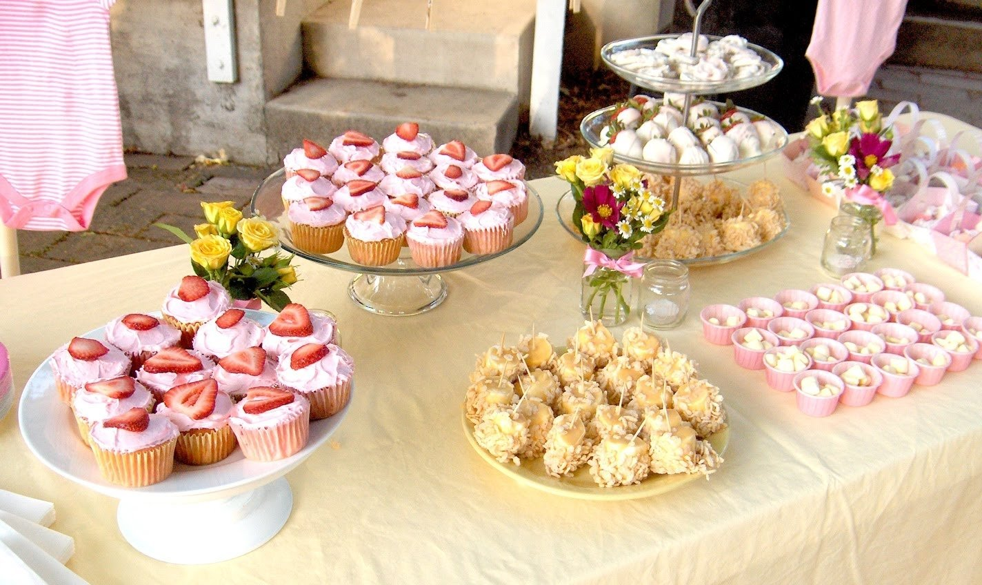 10 Stylish Food For Baby Shower Ideas simple baby shower food wedding 3 2020