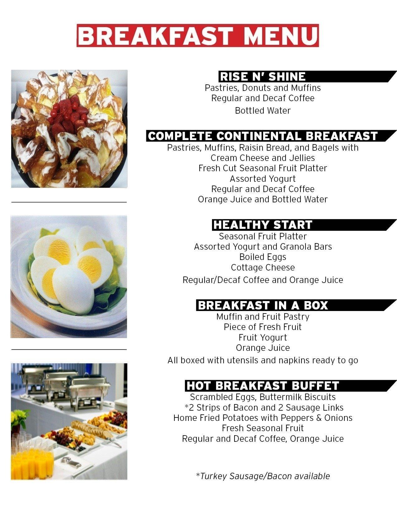10 Fantastic Healthy Menu Ideas For The Week simple breakfast menu ideas world of printable and chart 2020