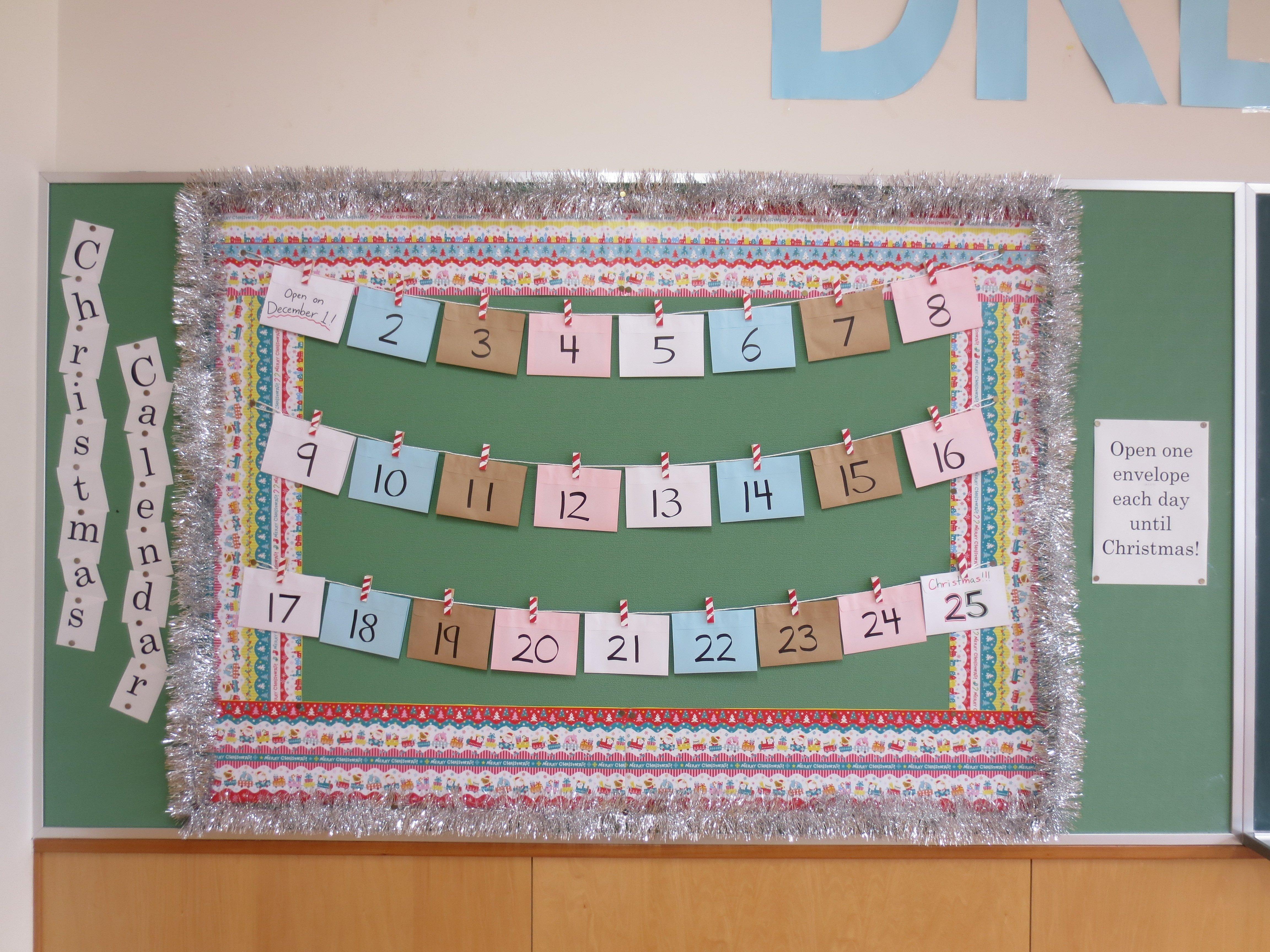 10 Lovable Christmas Bulletin Board Ideas For Teachers simple english bulletin board ideas e7b4a0e695b5e381aae383a9e382a4e38395 1 2020