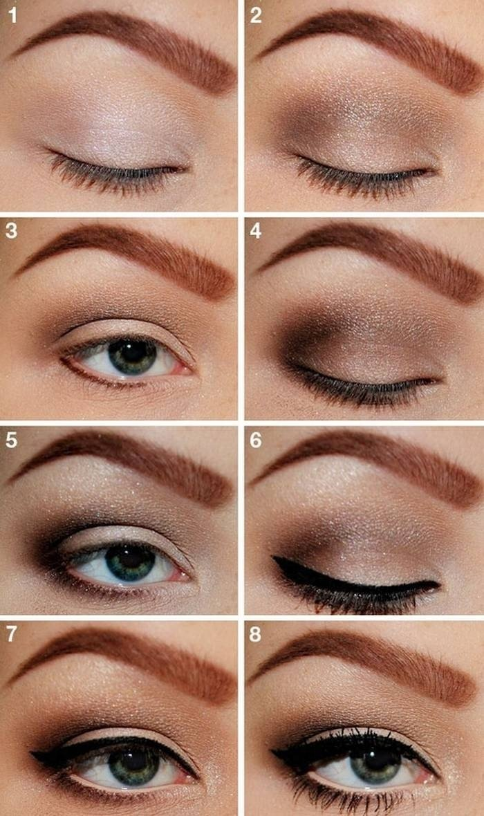 10 Unique Eyeliner Ideas For Brown Eyes simple eyeliner styles for brown eyes makeup idea 2020