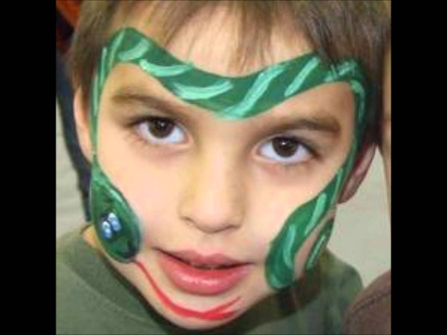 10 Famous Face Painting Ideas Step By Step simple face painting ideas for boys easy designs 4 2020