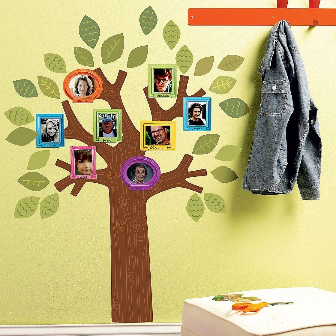 10 Stunning Family Tree Ideas For Kids simple family tree wall decal ideas family tree wall decal for