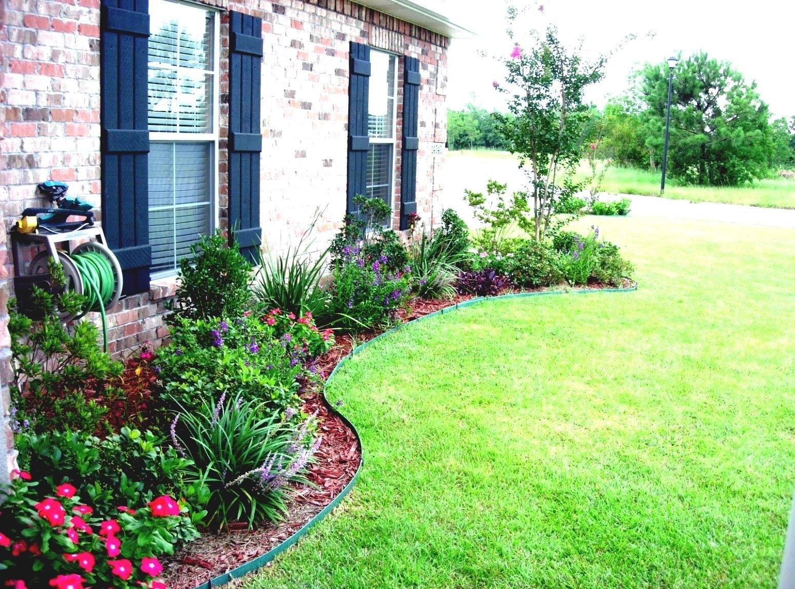 10 Trendy Simple Front Yard Landscaping Ideas simple landscaping ideas with low maintenance tropical daze 2020