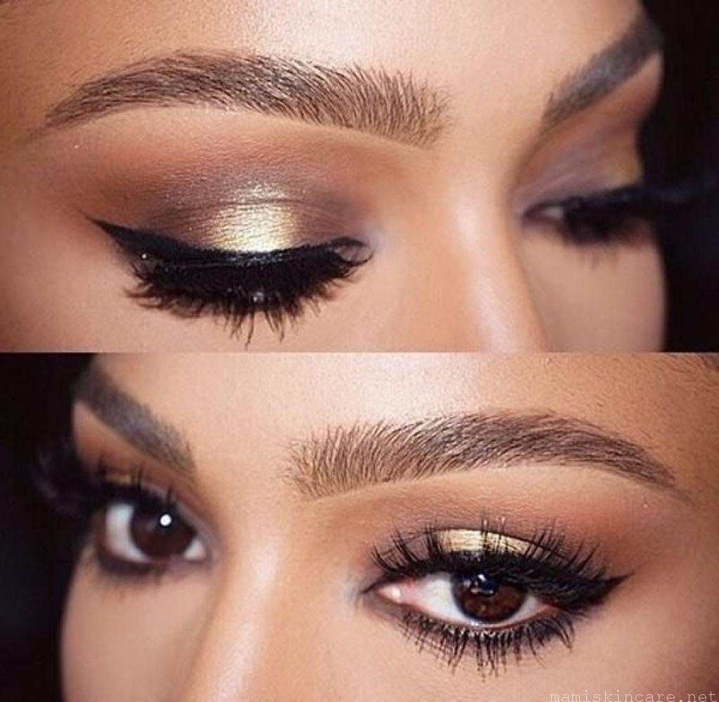 10 Lovable Makeup Ideas For Dark Brown Eyes simple makeup with prom makeup ideas for brown eyes with 12 easy 1 2021