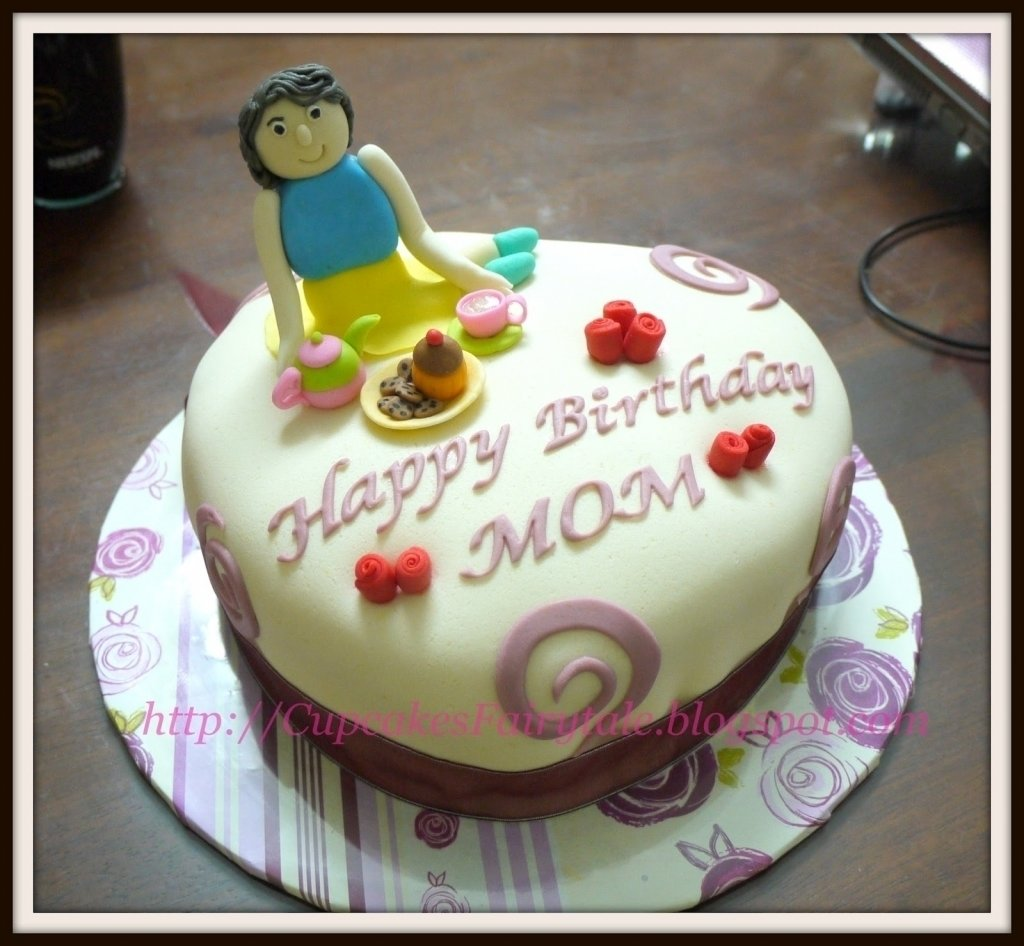 10 Fashionable Birthday Cake Ideas For Mom simple mother birthday cake ideas cake ideas throughout birthday