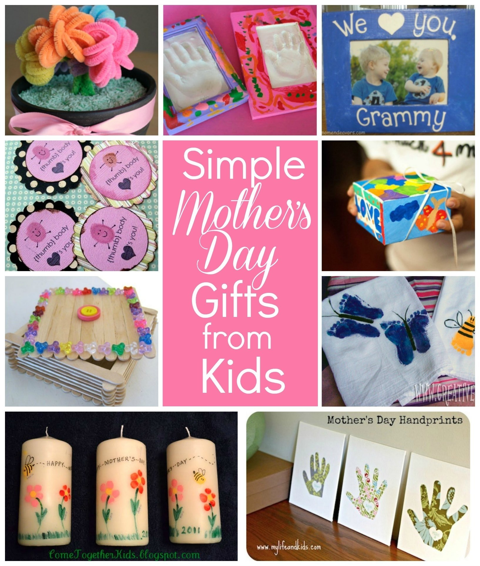 10 Cute Good Mothers Day Gifts Ideas simple mothers day gift ideas for grandma flower pot photo flowers 13 2020