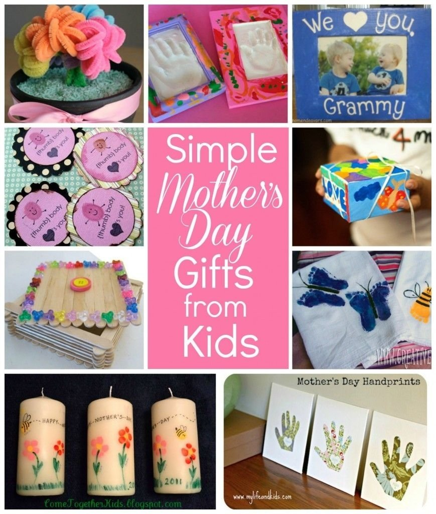 10 Fashionable Homemade Mother Day Gift Ideas simple mothers day gift ideas for grandma flower pot photo 2020