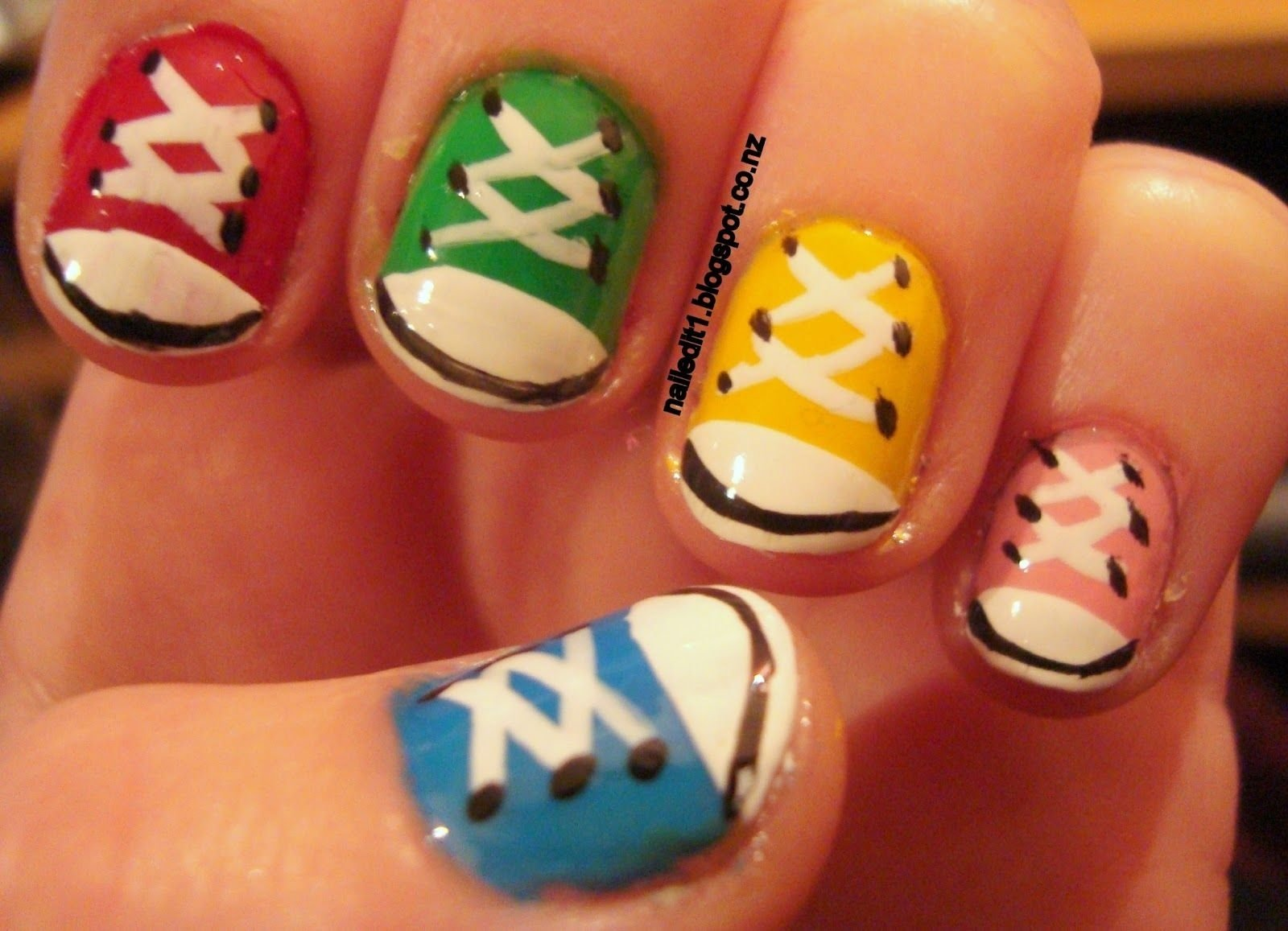 simple nail designs for short nails - this is totally me!!! hate