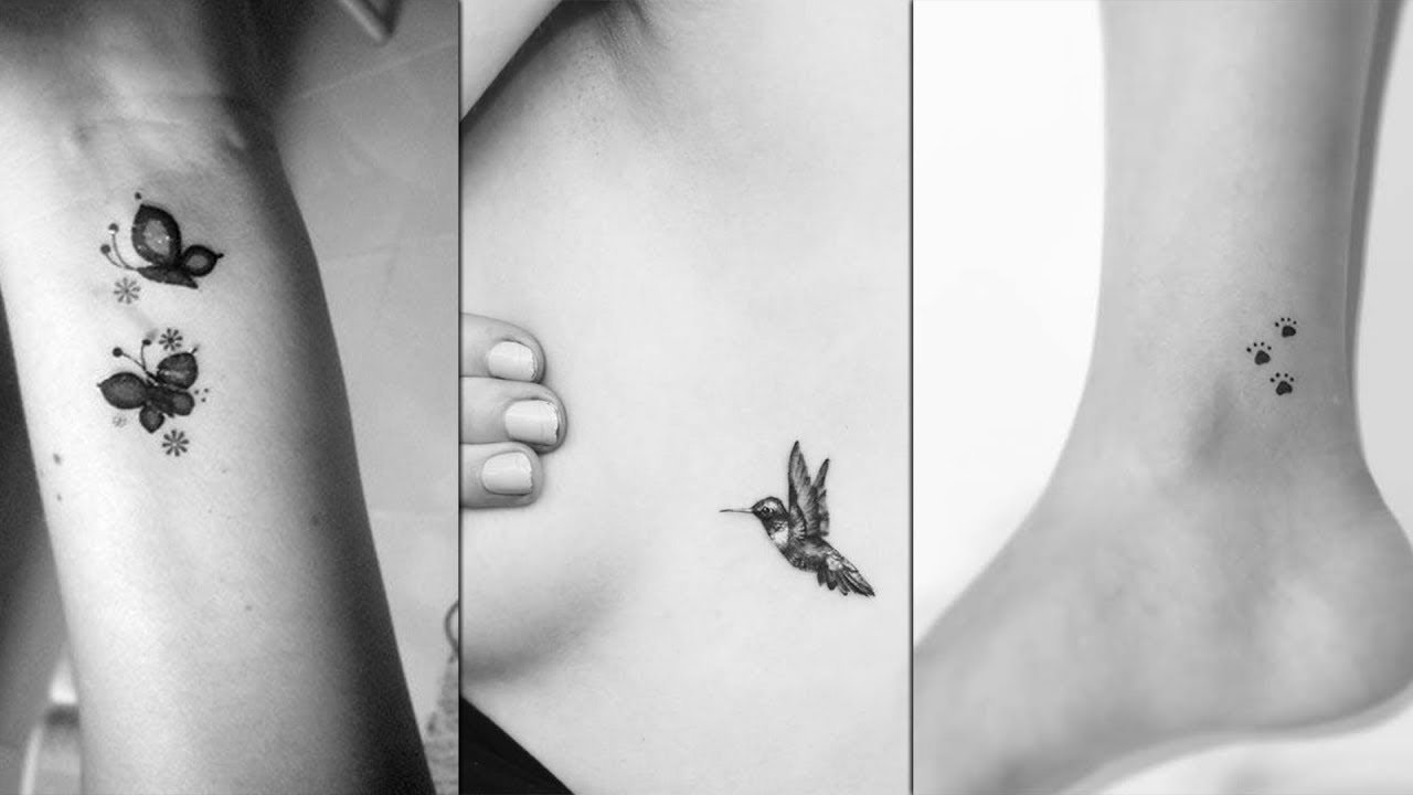 10 Lovely Simple Tattoo Ideas For Girls