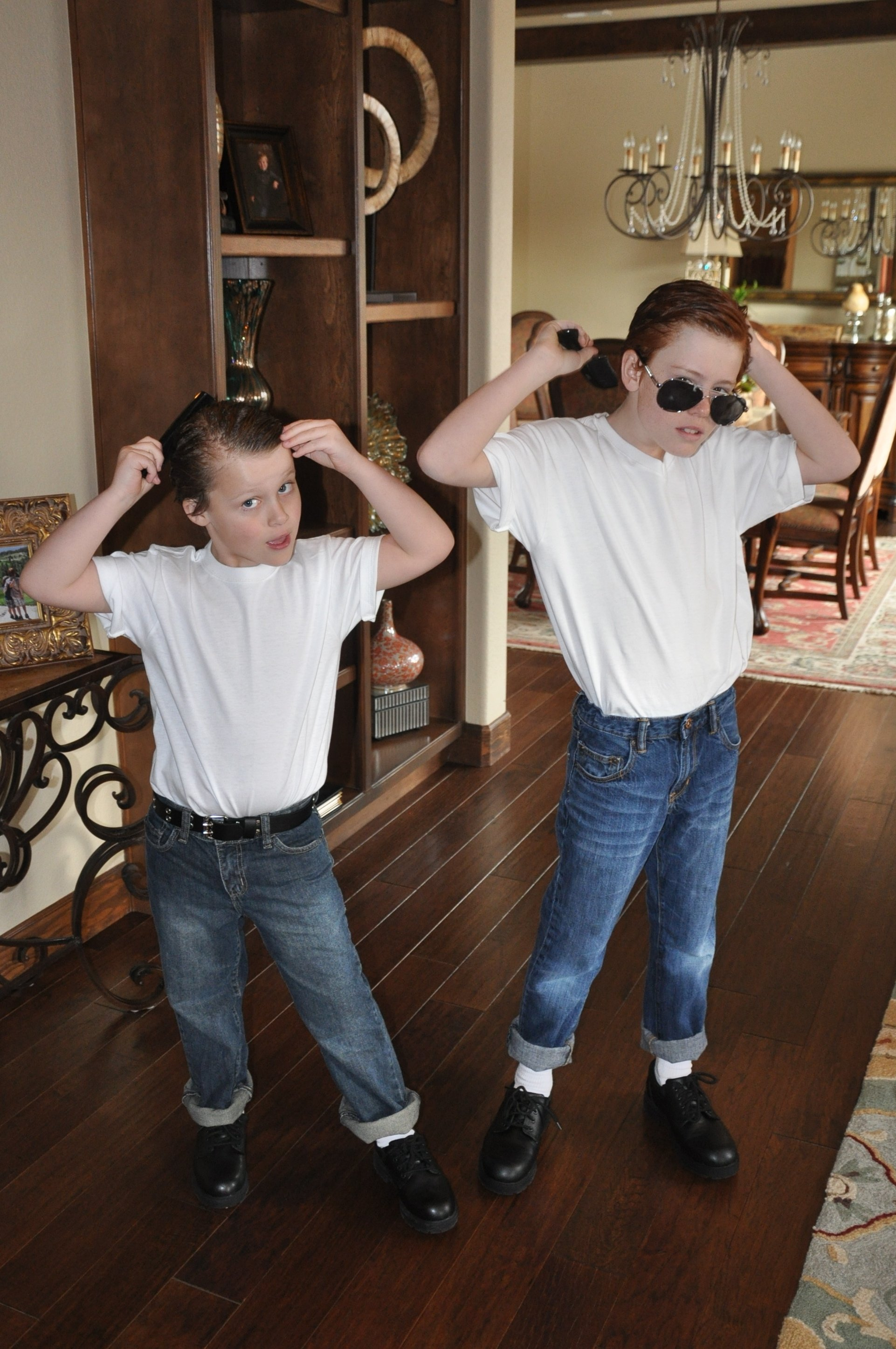 10 Elegant Decade Day Ideas For Boys simple sock hop attire its all in the attitude custom costumes