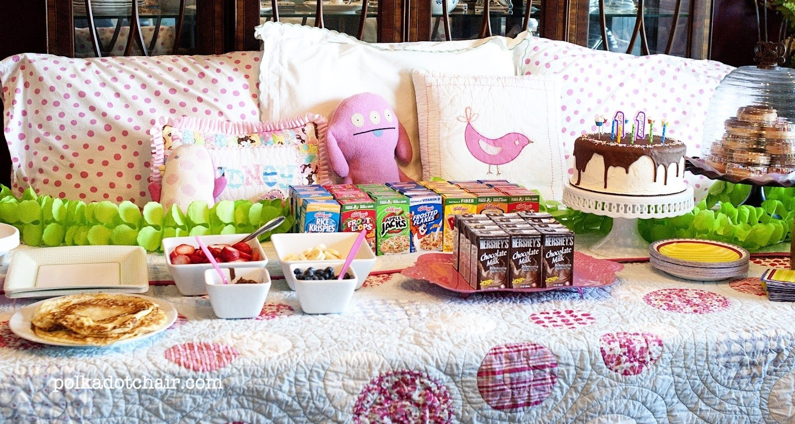 10 Most Recommended Slumber Party Ideas For 10 Year Olds simple un slumber party the polkadot chair 2 2020