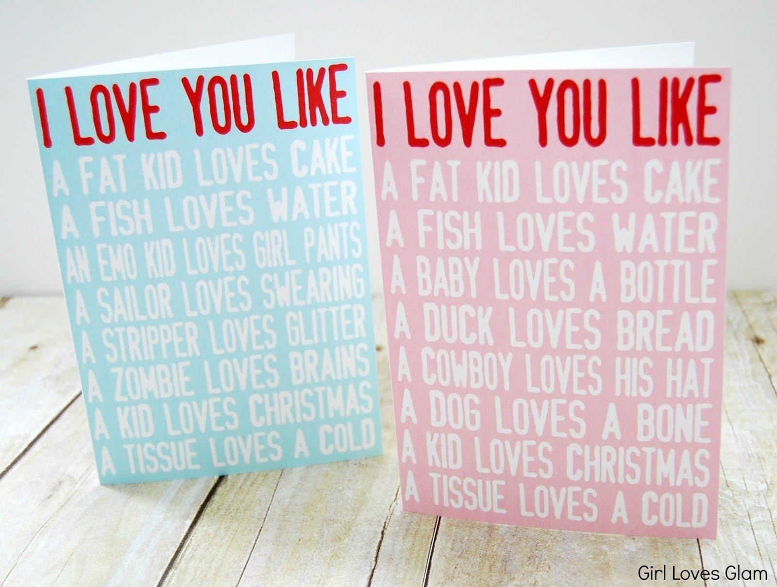 10 Stunning Valentine Card Ideas For Him simple valentine card sayings amazing valentine card ideas also him