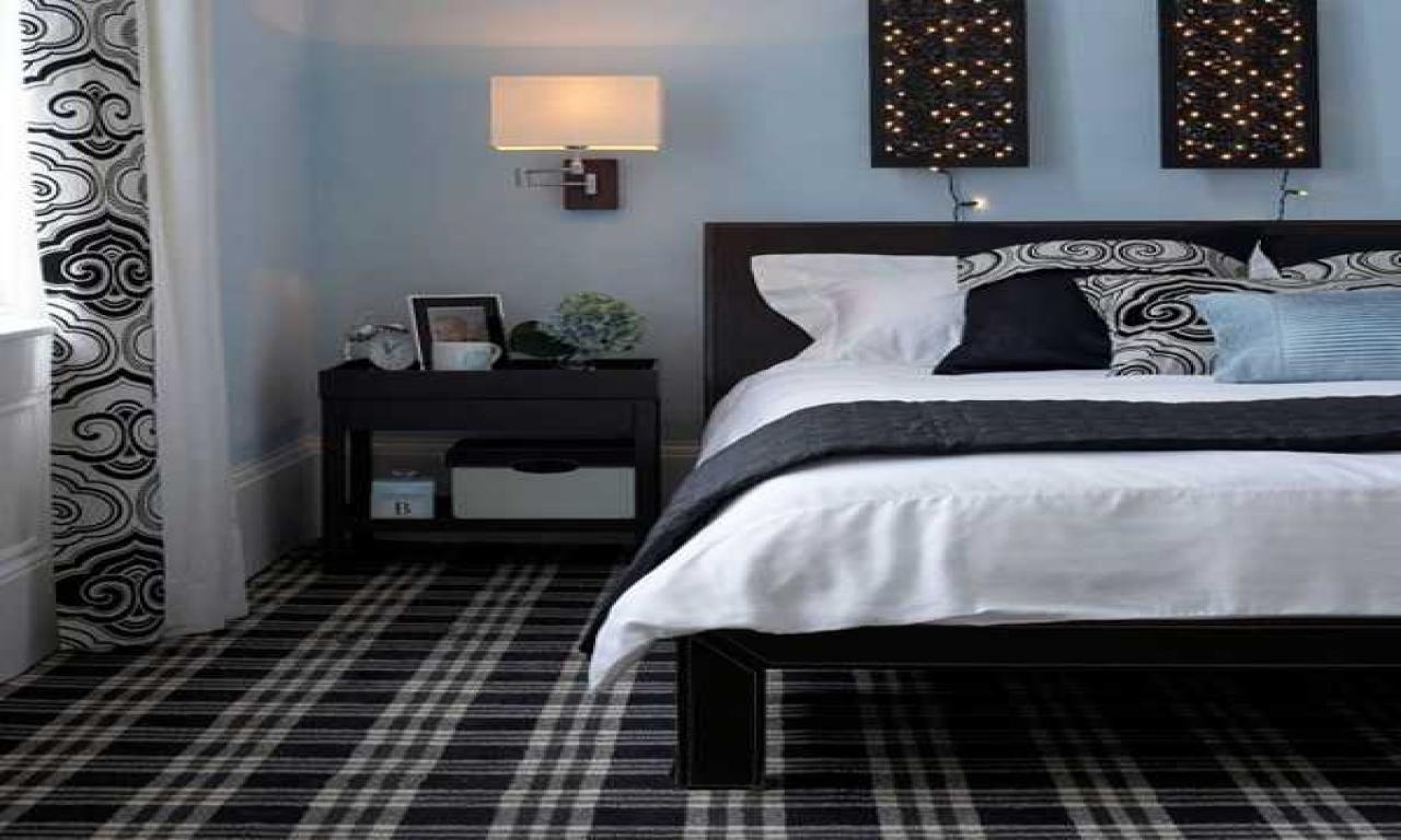 10 Amazing Black And Blue Bedroom Ideas simple wall decorating ideas black white and blue bedroom ideas 2020