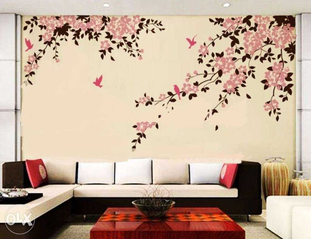 10 Wonderful Creative Painting Ideas For Walls simple wall painting designs for bedroom trends and home design 2020