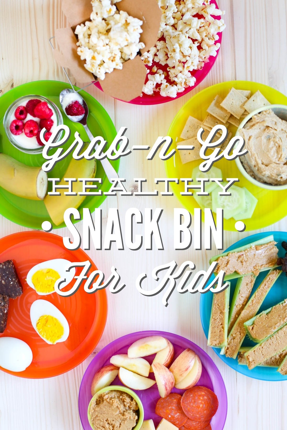 10 Stylish Grab And Go Lunch Ideas simplify snack time grab n go healthy snack bin for kids live simply 2020