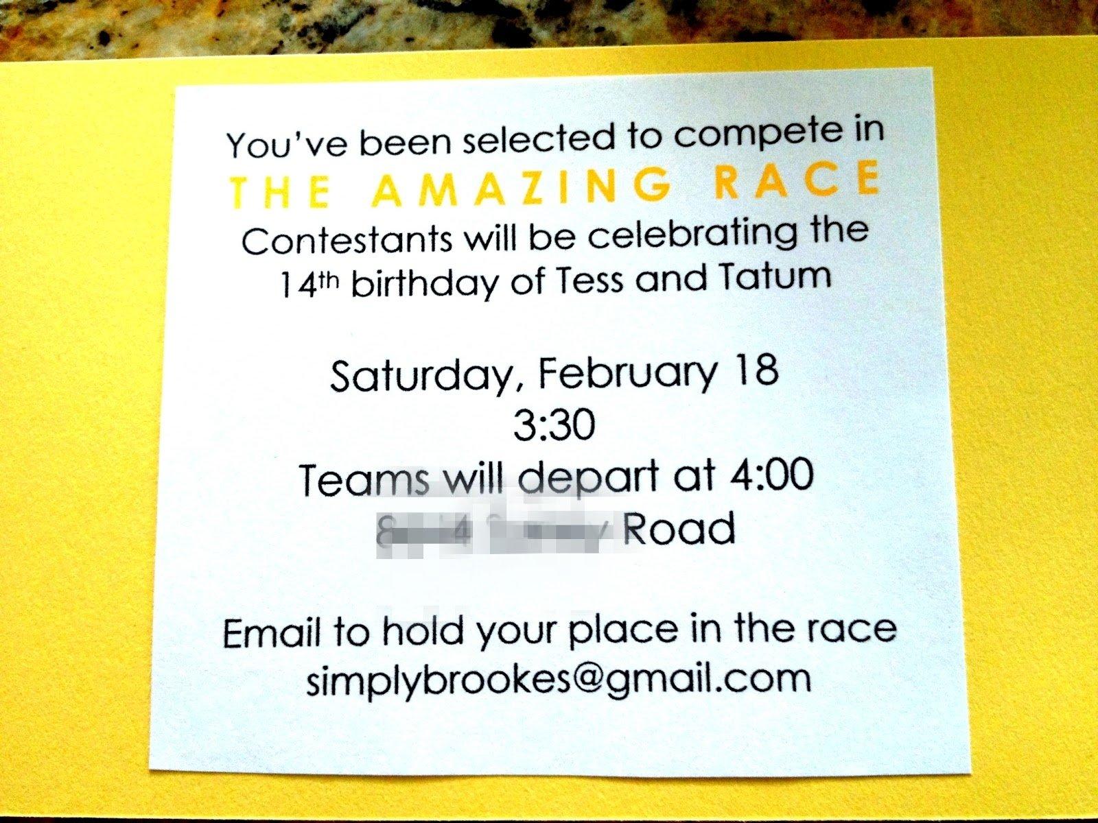 10 Wonderful Amazing Race Birthday Party Ideas simply brookes amazing race birthday party brookes version 2020