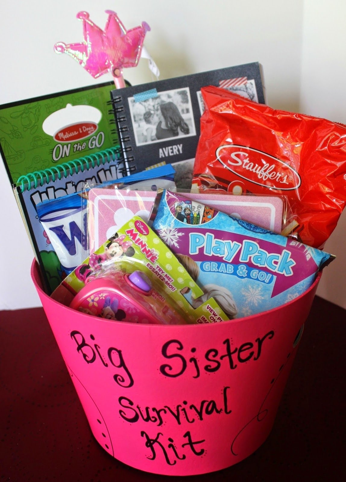 10 Unique Gift Ideas For Big Sister simply made with love big sister survival kit 2020