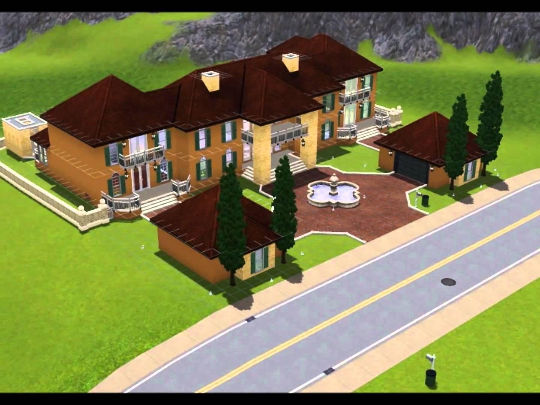 10 Stylish House Ideas For Sims 3 sims construction design ideas youtube house plans 61983 2021