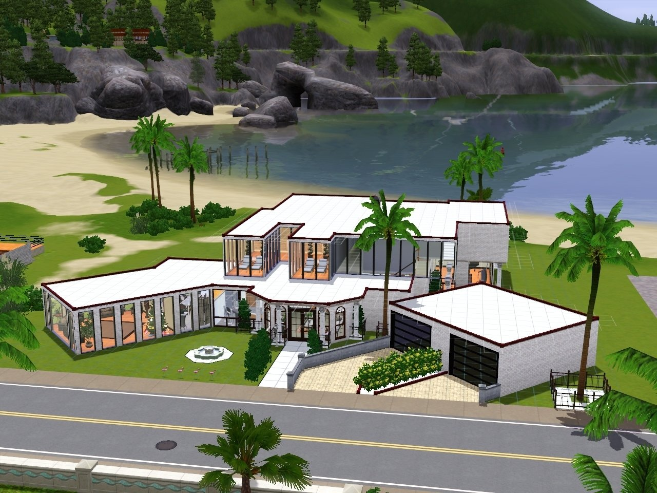 10 Stylish House Ideas For Sims 3 sims house ideas designs xbox modern home design house plans 61966 1 2021