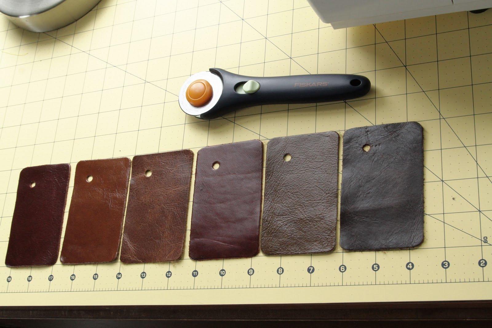 Leather anniversary ideas