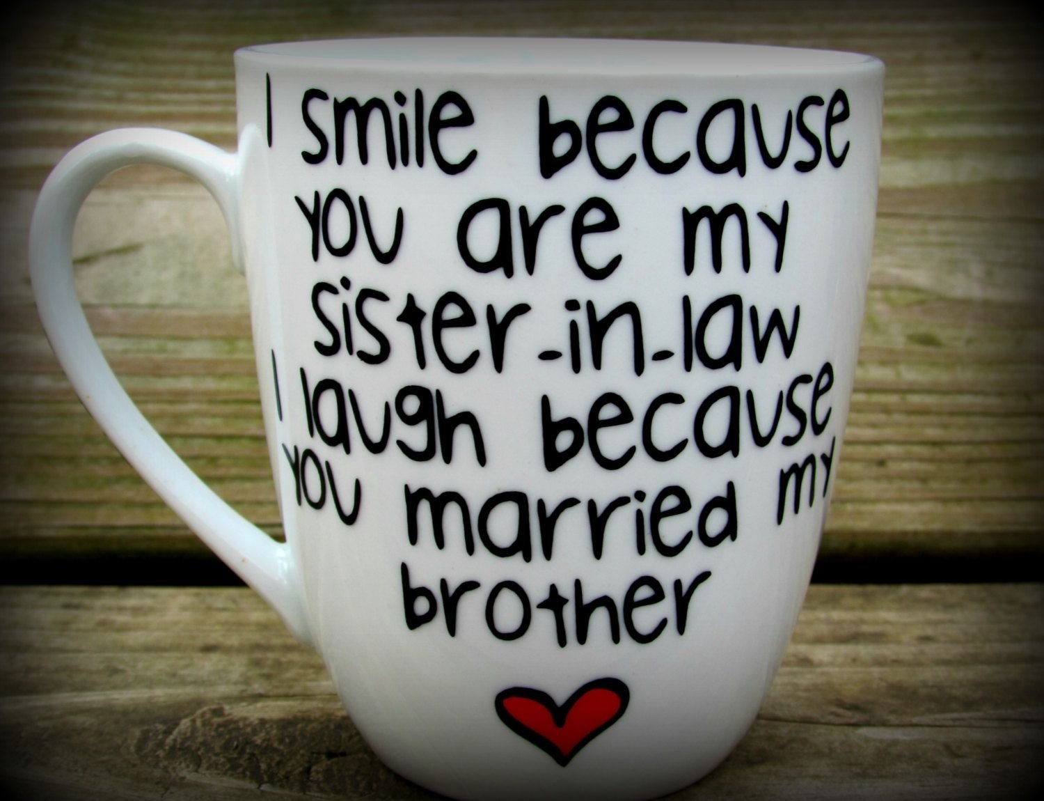 10 Trendy Gift Idea For Sister In Law sister in law sister in law gift sister in law mug sister in law