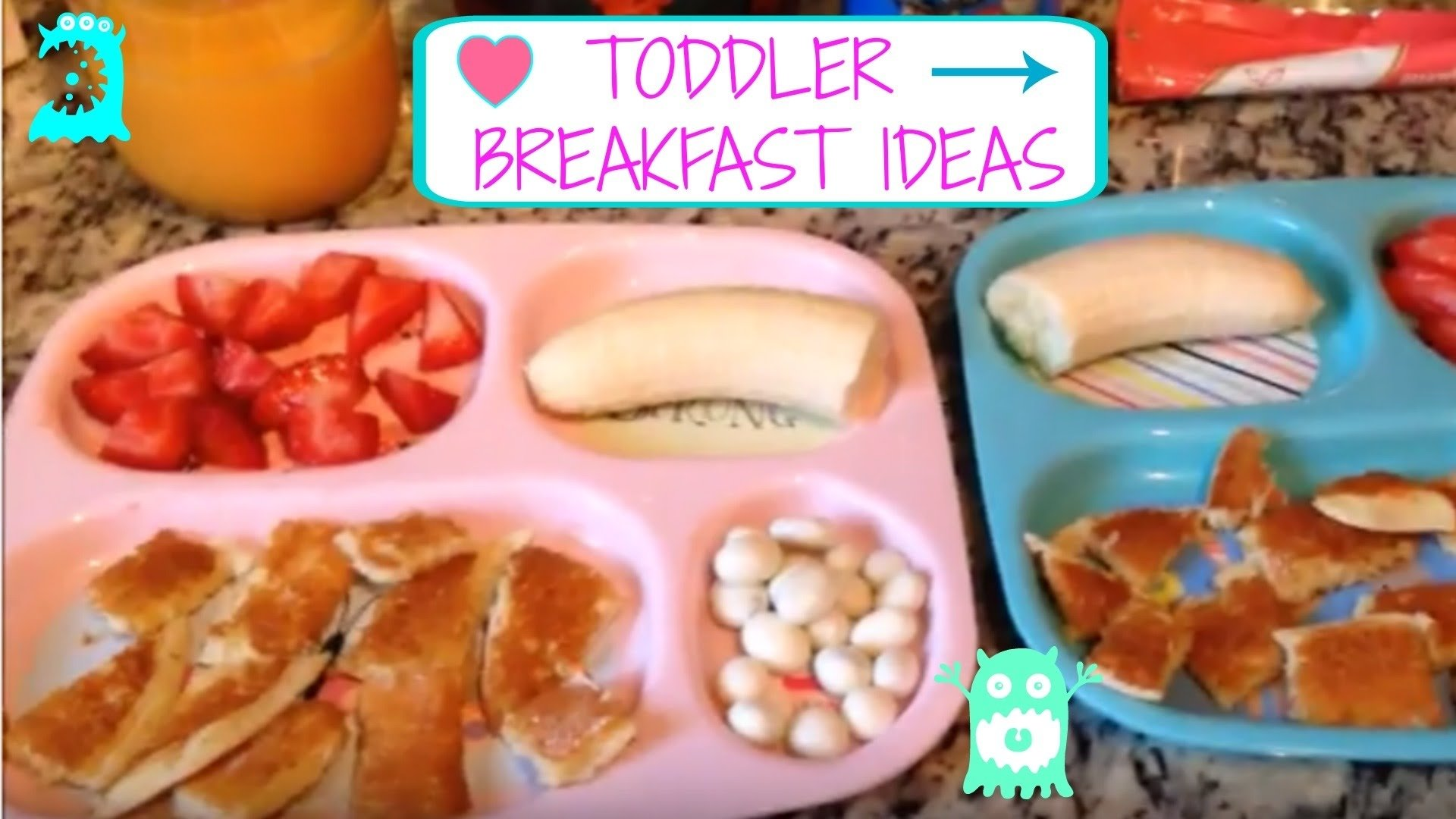 10 Lovely Breakfast Ideas For 1 Year Old six days of toddler breakfast meal ideas youtube 2