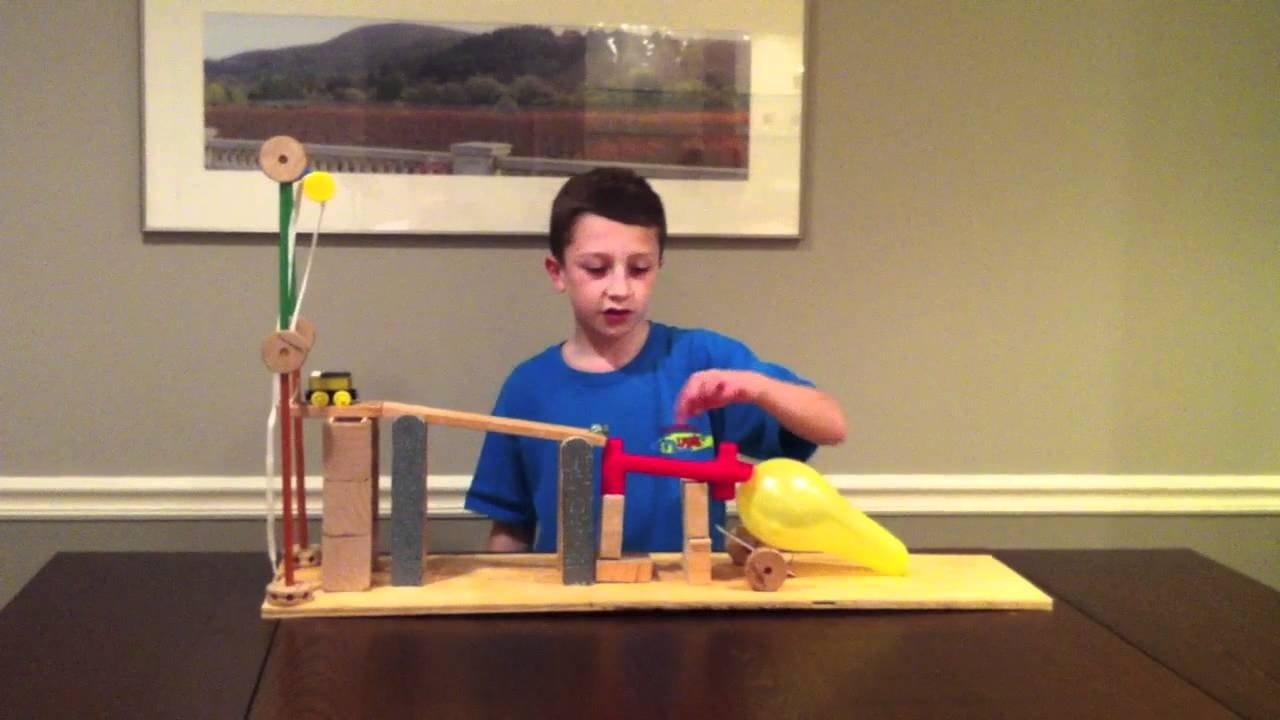10 Stunning Rube Goldberg Simple Machine Ideas six simple machine project using all six machines rube goldberg 2 2020
