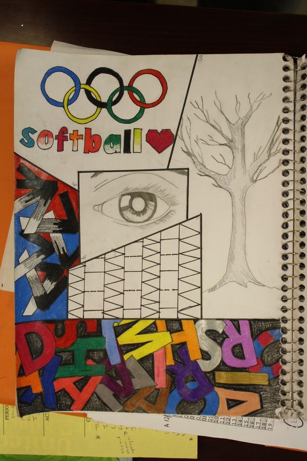 Sketchbook Prompts For Middle School
