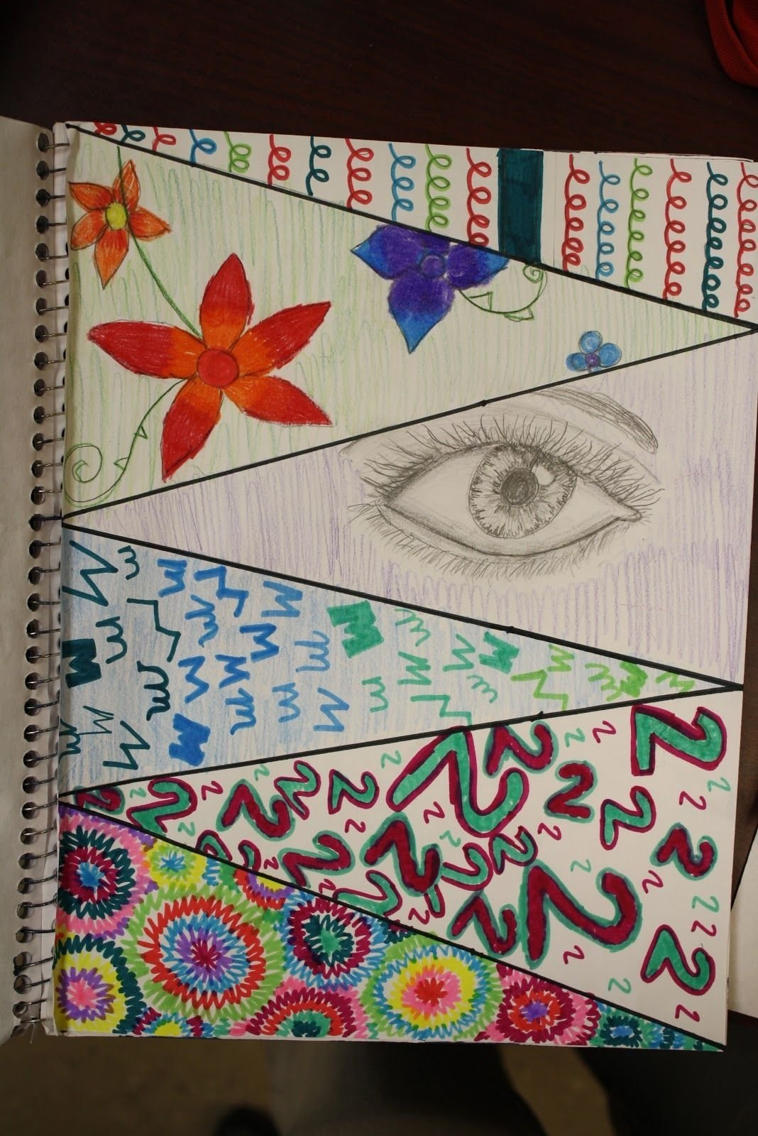 10 Stunning Sketchbook Ideas For Middle School sketchbook assignment ideasdivide a page into 6 sections each 2020