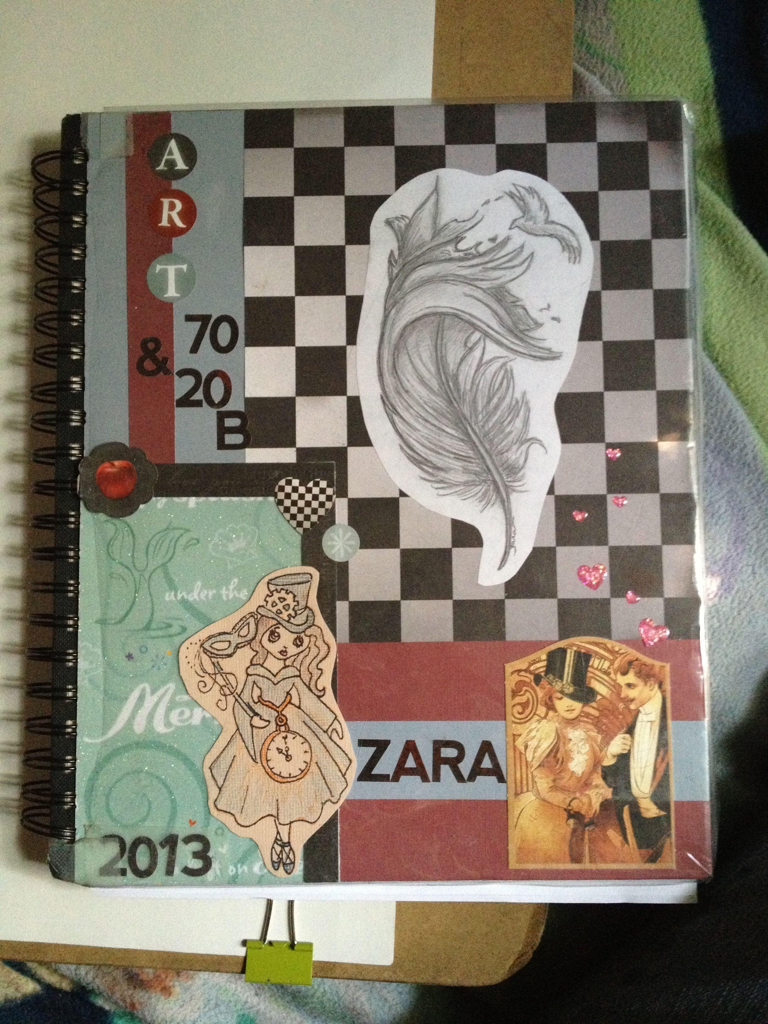 10 Stunning Sketchbook Ideas For Middle School sketchbook cover my art and cat pinterest sketchbook cover 2020
