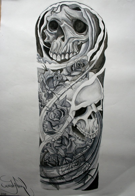 10 Spectacular Half A Sleeve Tattoo Ideas skull half sleeve tattoos for men 1000 images about tattoo ideas on 2020