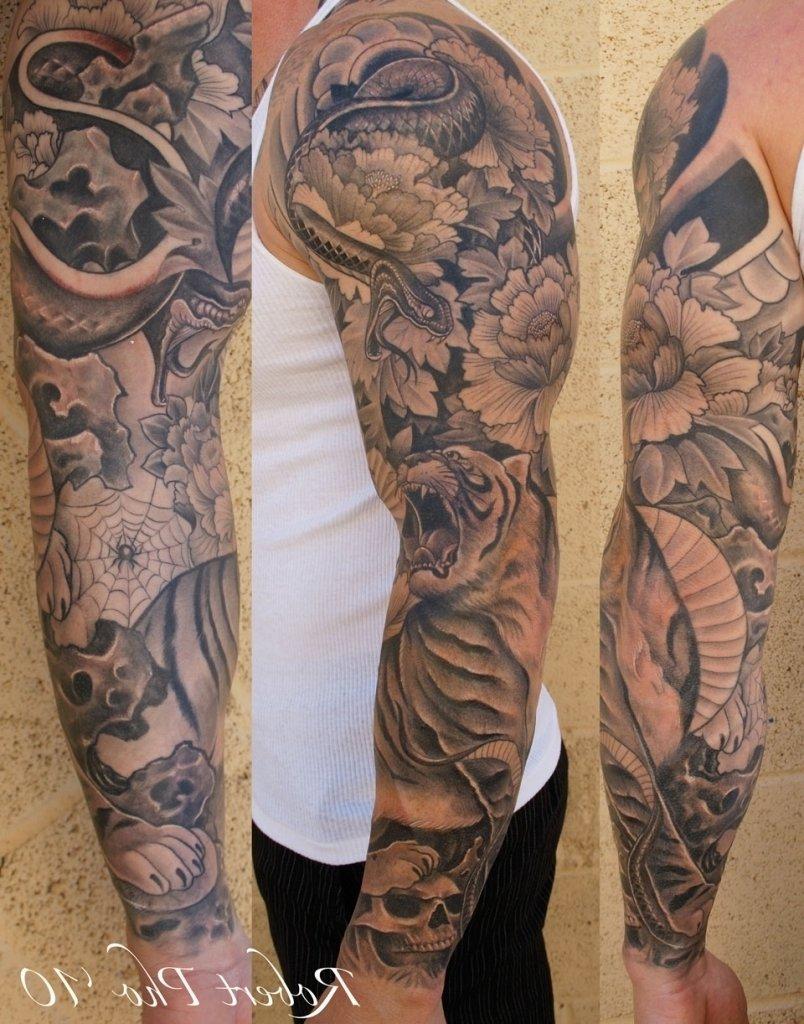 10 Best Half Sleeve Tattoos Ideas For Men sleeve ideas for men tattoo ideas for men sleeve half sleeve tattoo 1