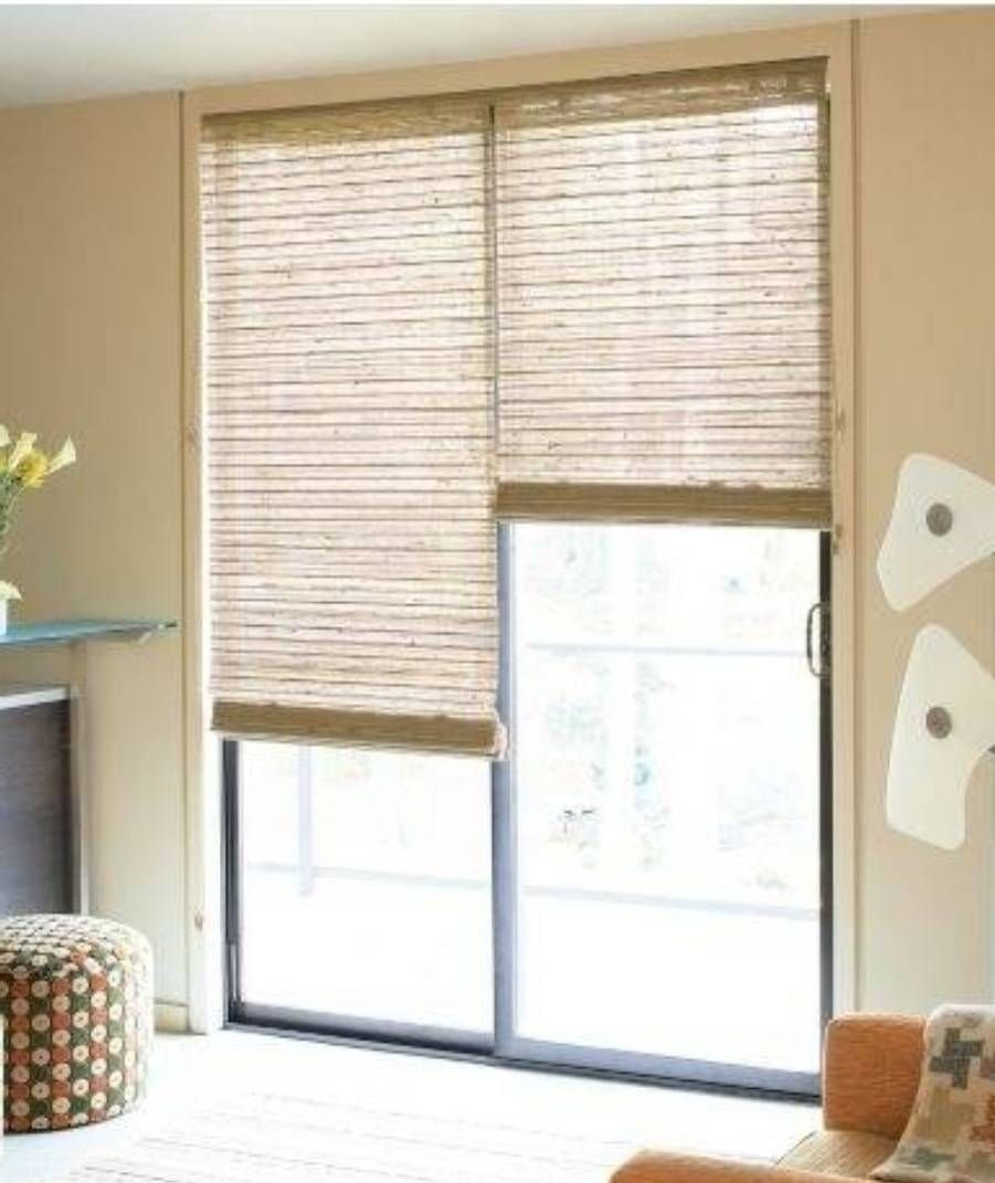 10 Elegant Window Treatments For Sliding Glass Doors Ideas sliding glass door energy efficient window treatments sliding for 1 2020