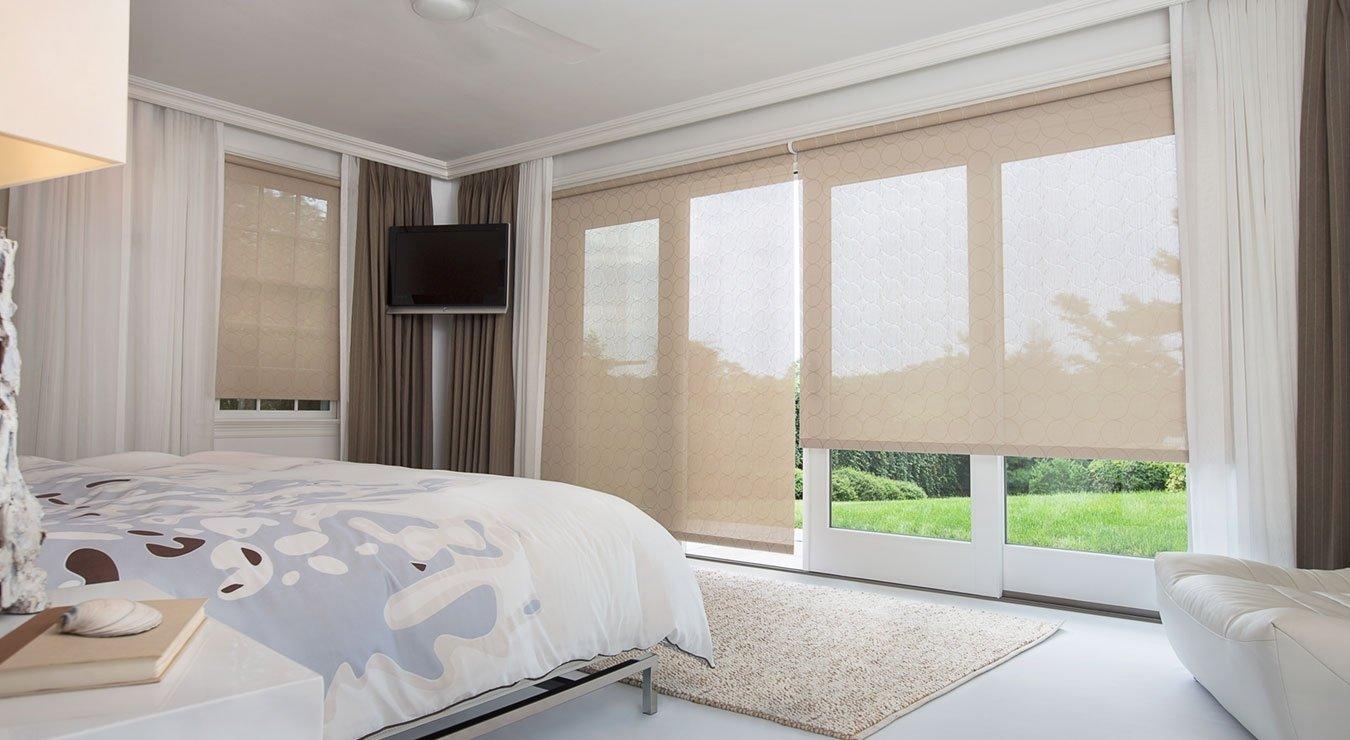 10 Attractive Sliding Door Window Treatments Ideas sliding glass door window treatments the shade store 2020