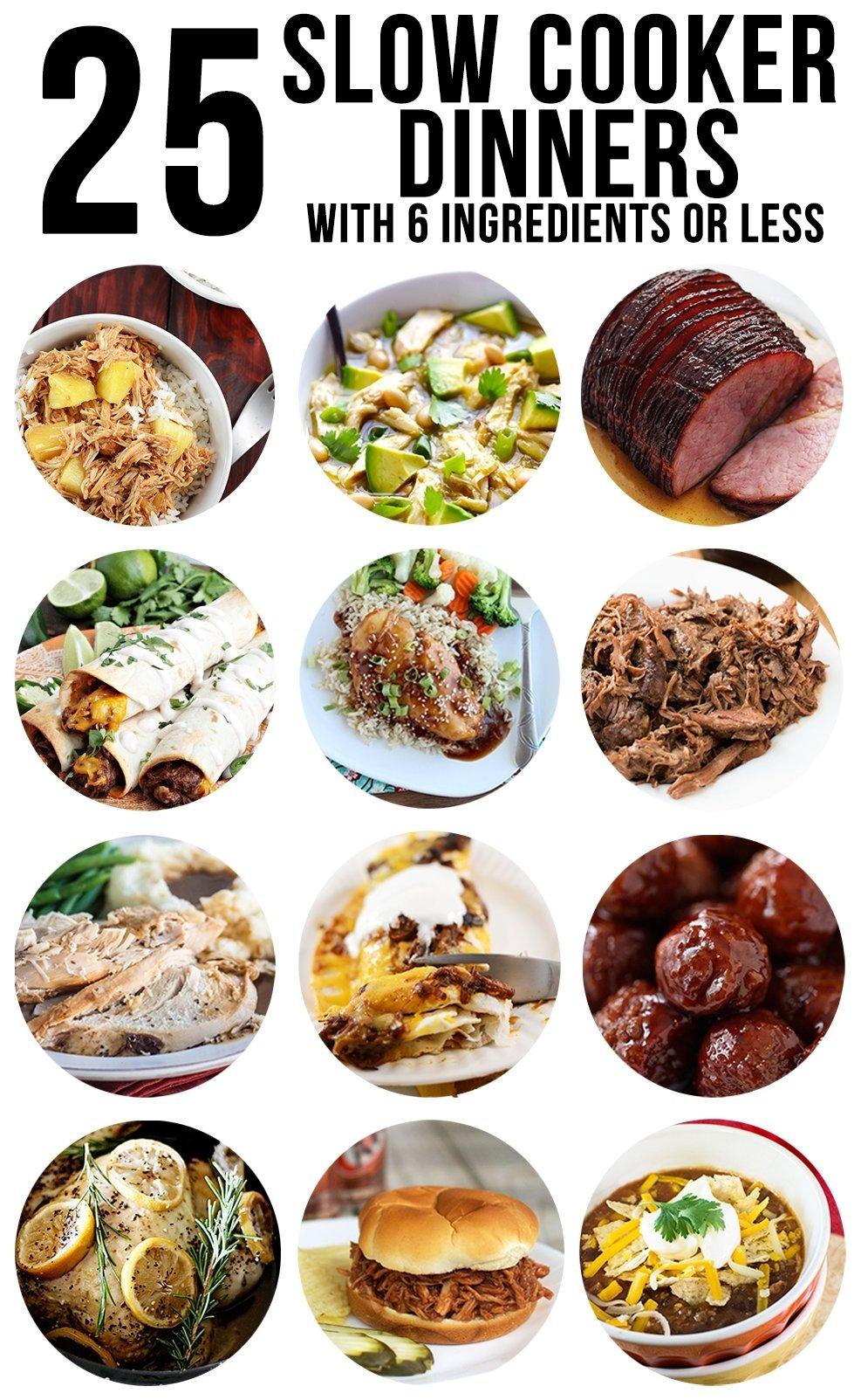 10 Nice Easy Dinner Ideas For 6 slow cooker dinners like mother like daughter 2020