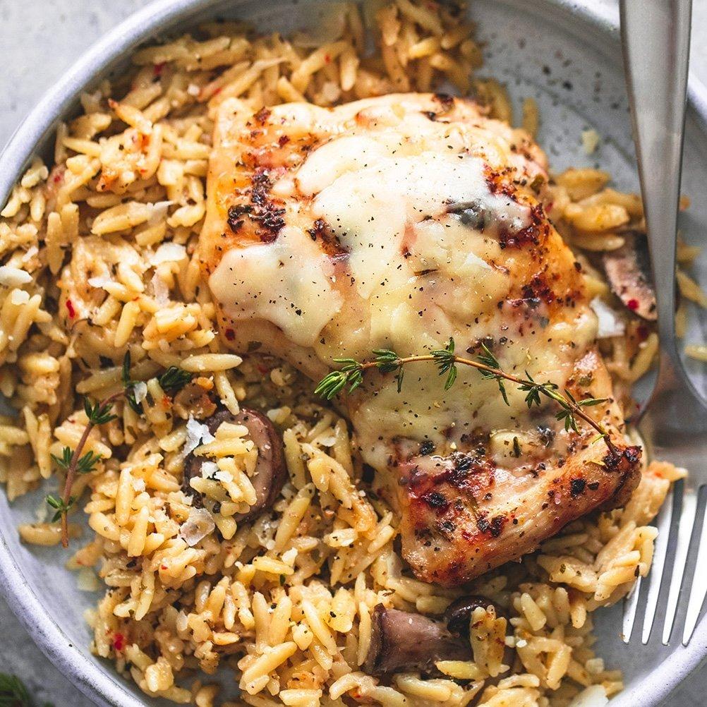 10 Stylish Ideas For Crock Pot Meals slow cooker parmesan herb chicken orzo creme de la crumb 2021