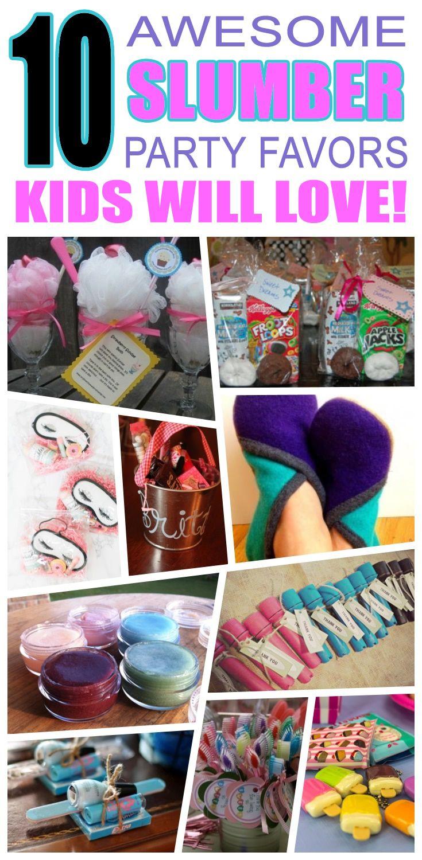 10 Lovely Goody Bag Ideas For Girls slumber party favor ideas best kids birthday party favor ideas 2020