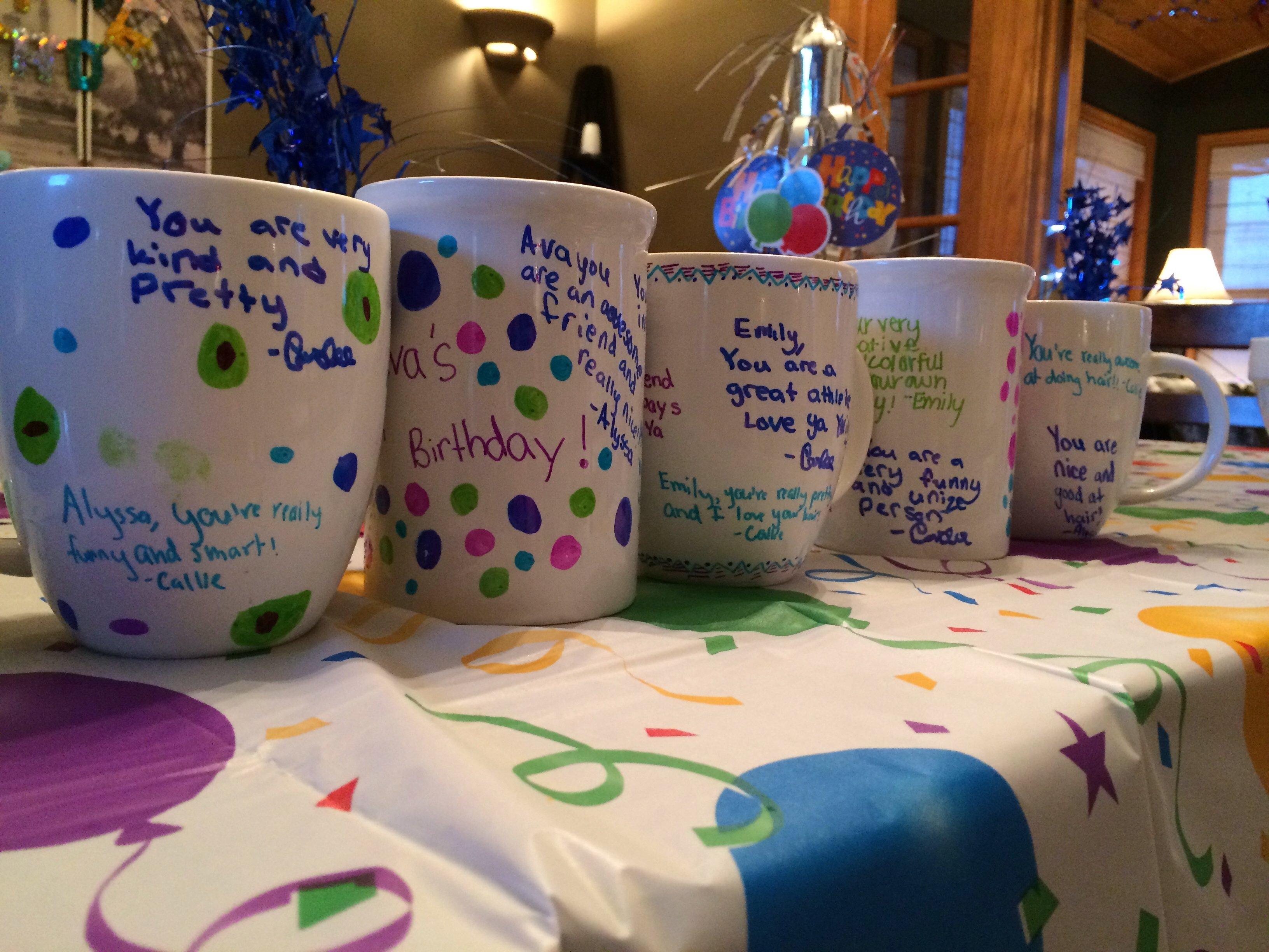 slumber party invitation ideas homemade sharpie mugs birthday fun