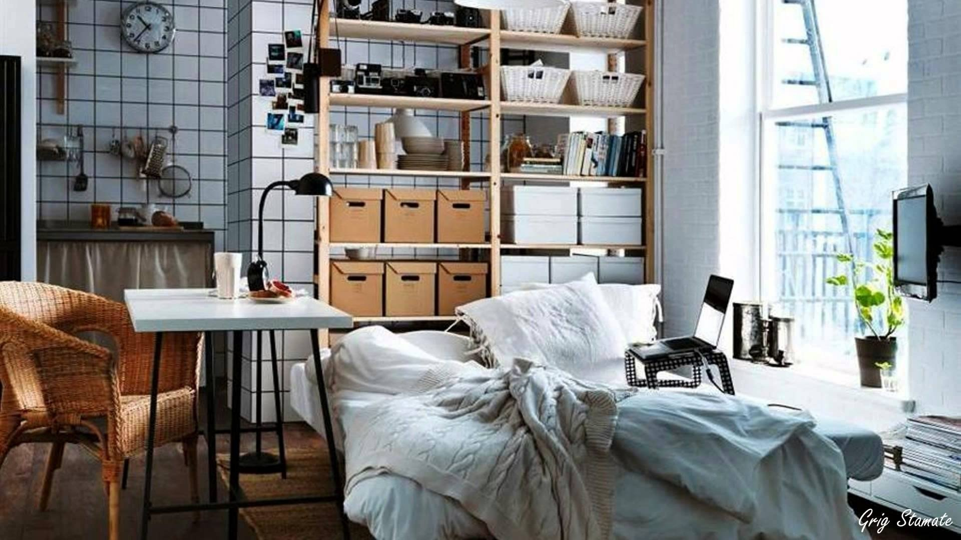 10 Nice Storage Ideas For Small Rooms small apartment storage ideas youtube 1 2020