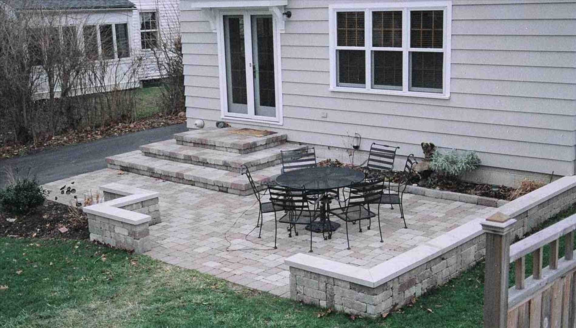 10 Best Concrete Patio Ideas For Small Backyards small backyard concrete patio ideas homedesignlatest site