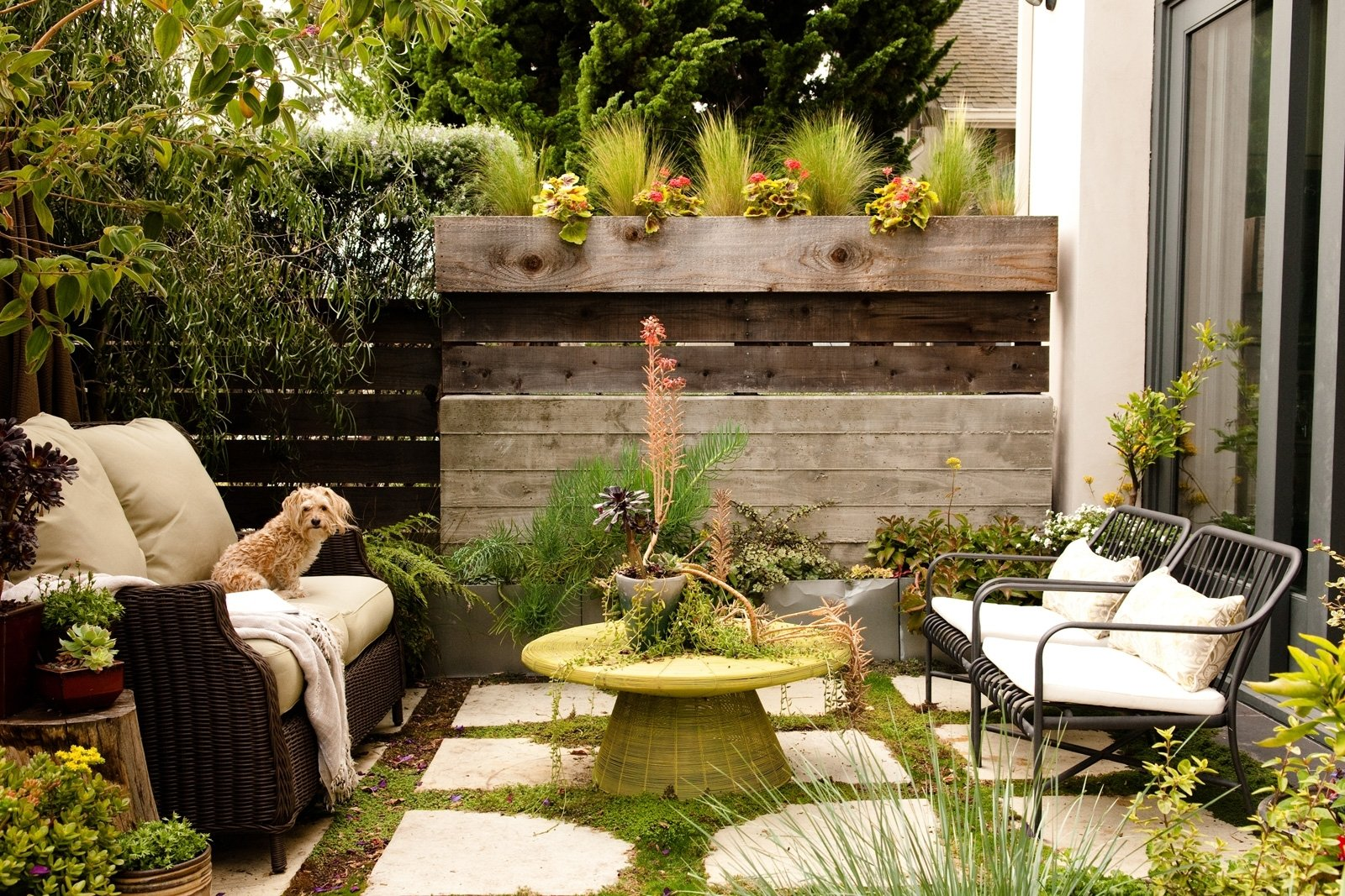 10 Perfect Outdoor Patio Ideas For Small Spaces small backyard ideas how to make a small space look bigger 2020