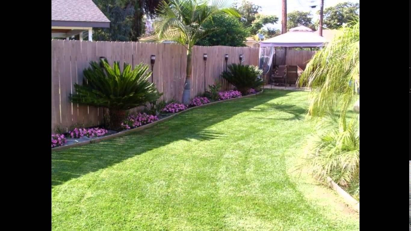 10 Wonderful Ideas For A Small Backyard small backyard ideas small backyard landscaping ideas youtube 4 2020