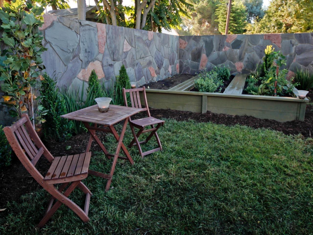 small backyard landscape design   hgtv